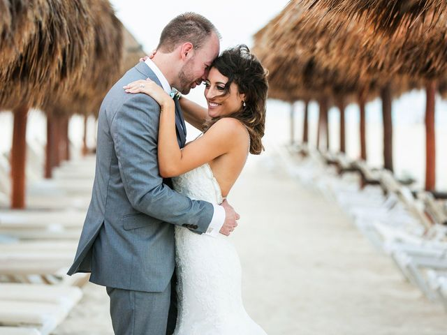 Shawn and Brittney's Wedding in Cancun, Mexico 61