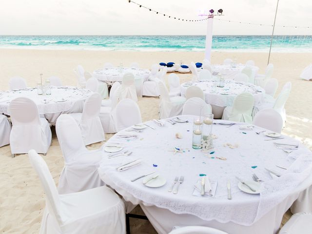 Shawn and Brittney's Wedding in Cancun, Mexico 62