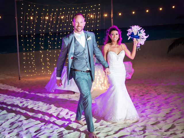 Shawn and Brittney's Wedding in Cancun, Mexico 63