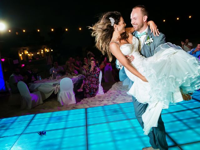 Shawn and Brittney's Wedding in Cancun, Mexico 64