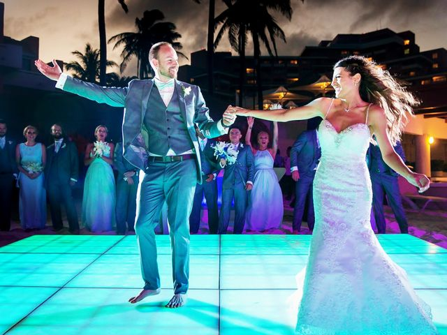 Shawn and Brittney's Wedding in Cancun, Mexico 65