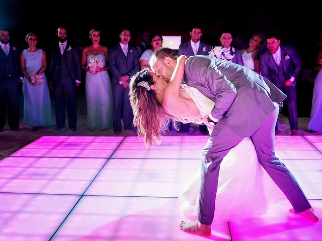 Shawn and Brittney's Wedding in Cancun, Mexico 66