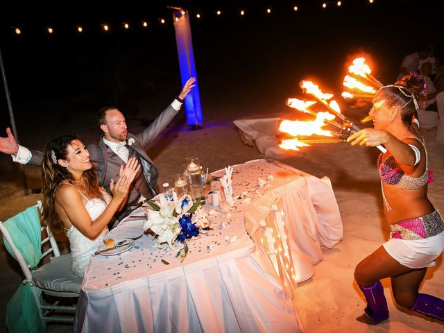 Shawn and Brittney's Wedding in Cancun, Mexico 71