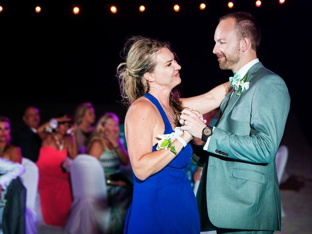 Shawn and Brittney's Wedding in Cancun, Mexico 76
