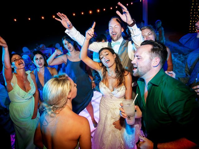 Shawn and Brittney's Wedding in Cancun, Mexico 80