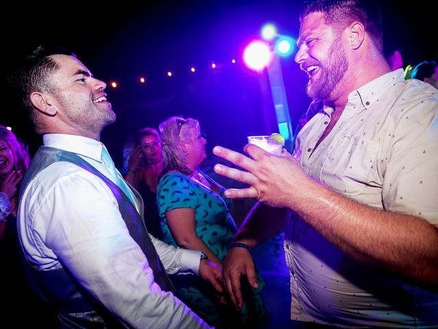 Shawn and Brittney's Wedding in Cancun, Mexico 84