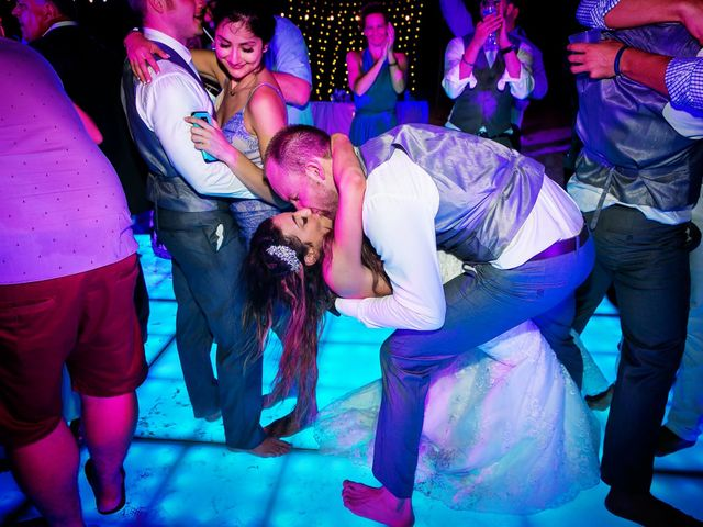 Shawn and Brittney's Wedding in Cancun, Mexico 90