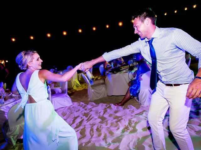 Shawn and Brittney's Wedding in Cancun, Mexico 92