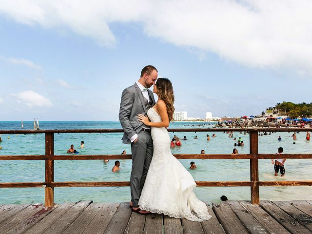 Shawn and Brittney's Wedding in Cancun, Mexico 103