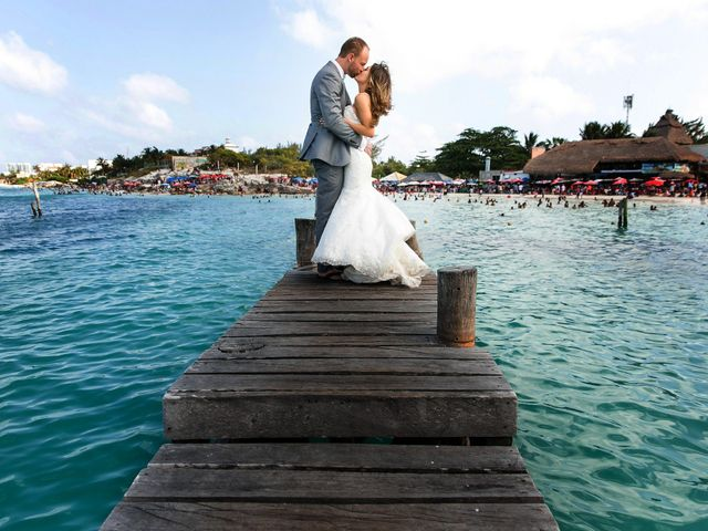 Shawn and Brittney's Wedding in Cancun, Mexico 106