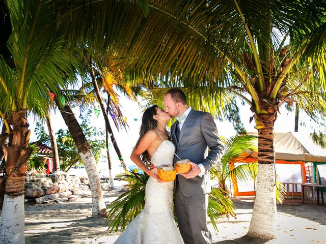Shawn and Brittney's Wedding in Cancun, Mexico 110