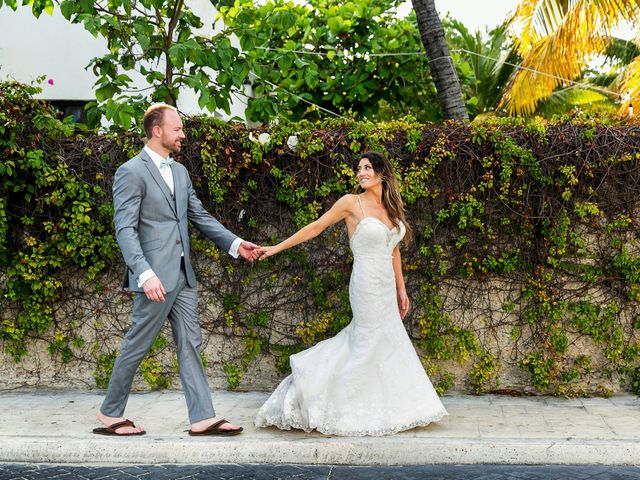 Shawn and Brittney's Wedding in Cancun, Mexico 112