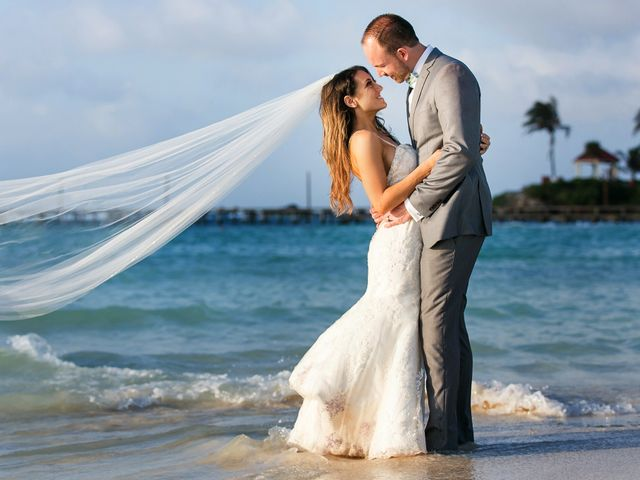 Shawn and Brittney's Wedding in Cancun, Mexico 116