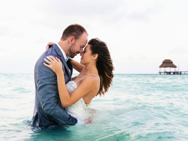 Shawn and Brittney's Wedding in Cancun, Mexico 118