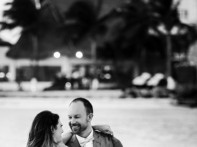 Shawn and Brittney's Wedding in Cancun, Mexico 120