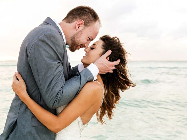 Shawn and Brittney's Wedding in Cancun, Mexico 121