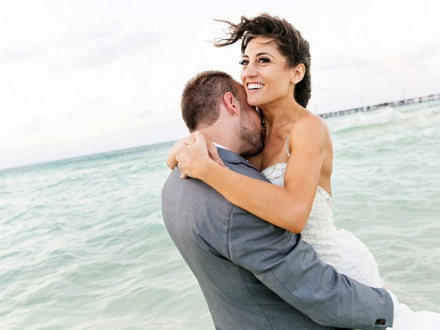 Shawn and Brittney's Wedding in Cancun, Mexico 122