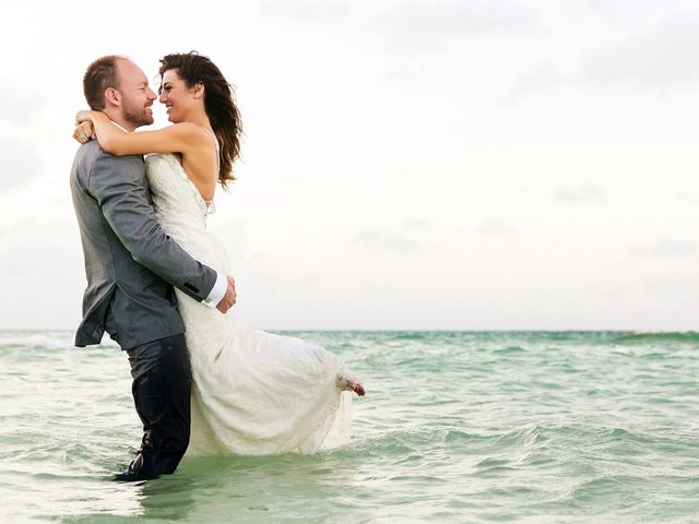 Shawn and Brittney's Wedding in Cancun, Mexico 124