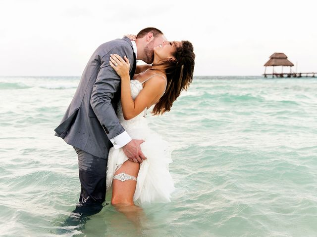 Shawn and Brittney's Wedding in Cancun, Mexico 126