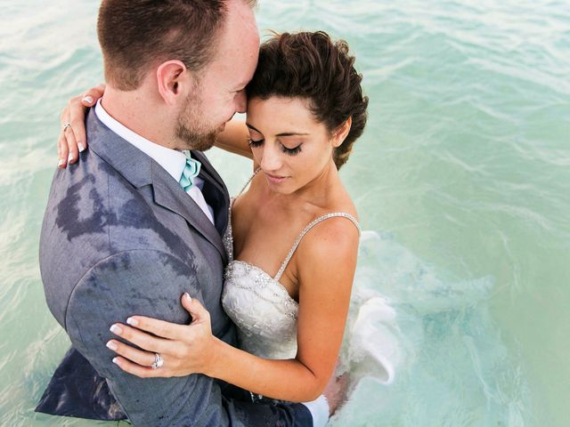Shawn and Brittney's Wedding in Cancun, Mexico 127