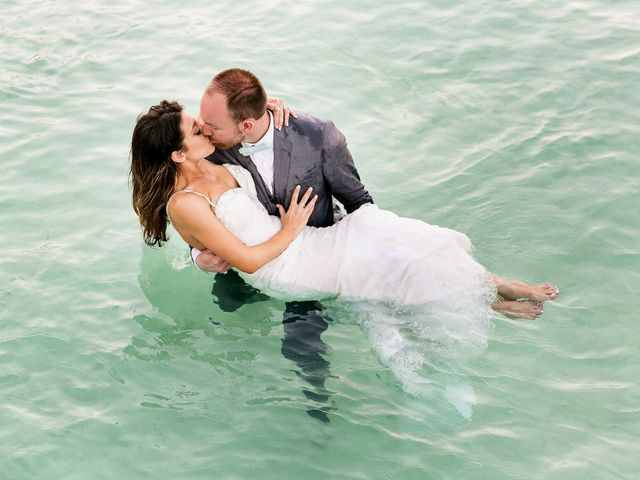 Shawn and Brittney's Wedding in Cancun, Mexico 129