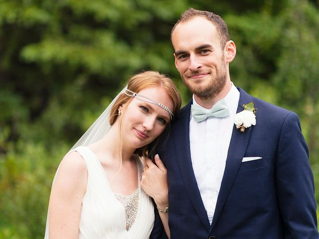 The wedding of Gabrielle and Jonathan