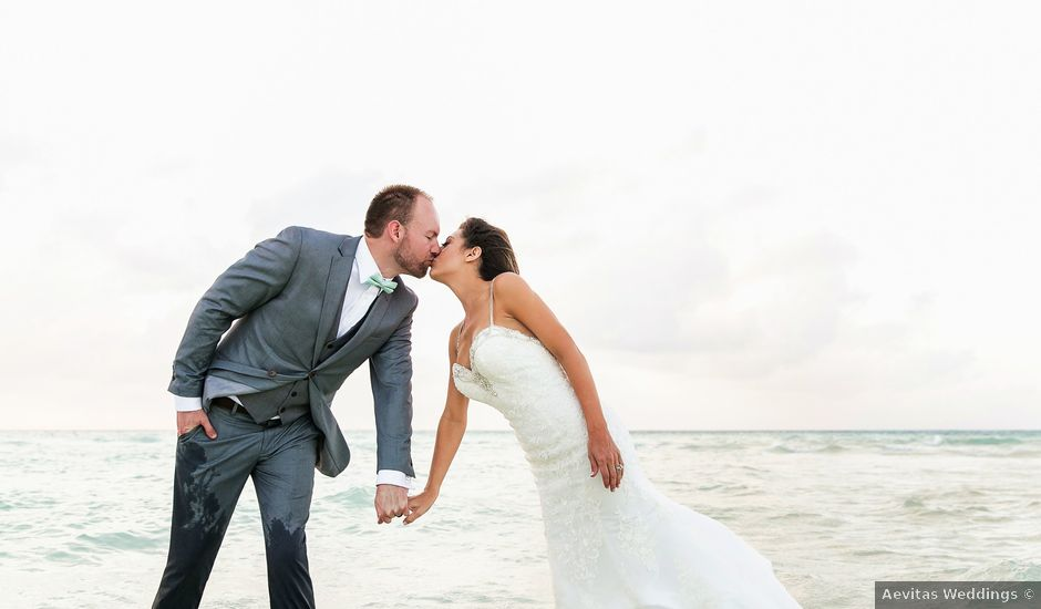 Shawn and Brittney's Wedding in Cancun, Mexico