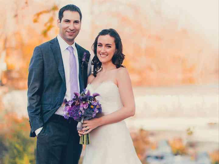 The wedding of Greg and Johanna