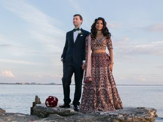 The wedding of Sukhi and Troy