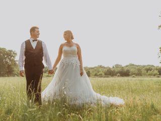 The wedding of Megan and Brad