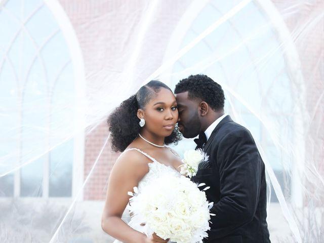 Khalil and Kelsey's Wedding in Upper Marlboro, Maryland 6