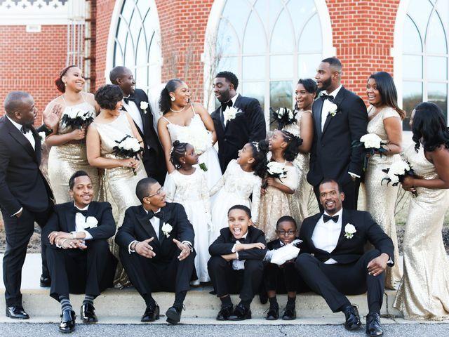 Khalil and Kelsey's Wedding in Upper Marlboro, Maryland 7