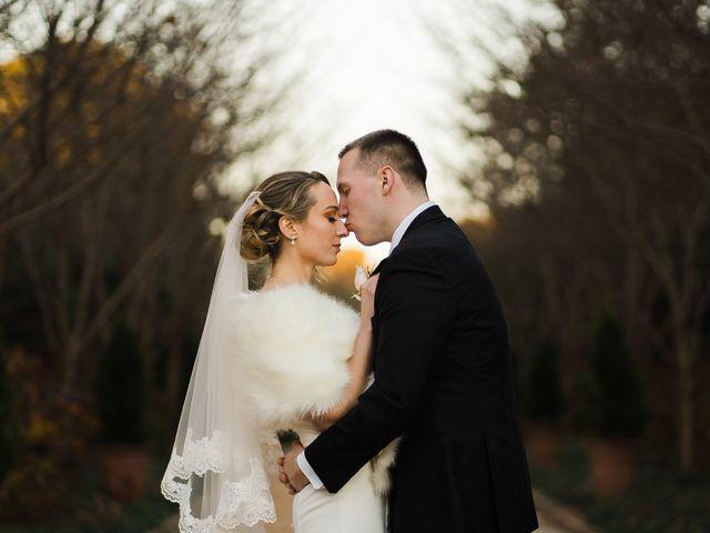 The wedding of Kathleen and Michael