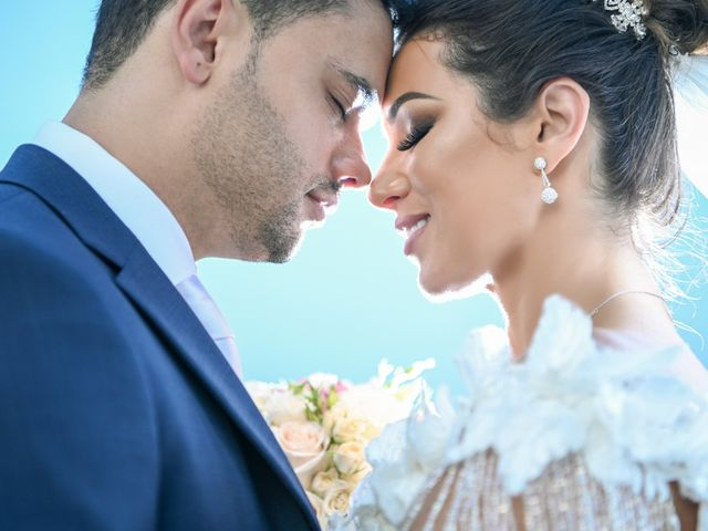 The wedding of Pollyana and Marcos
