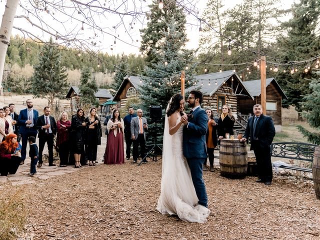 Sam and Diana's Wedding in Pine, Colorado 6