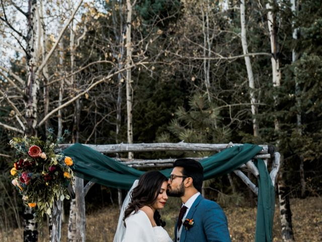 Sam and Diana's Wedding in Pine, Colorado 15