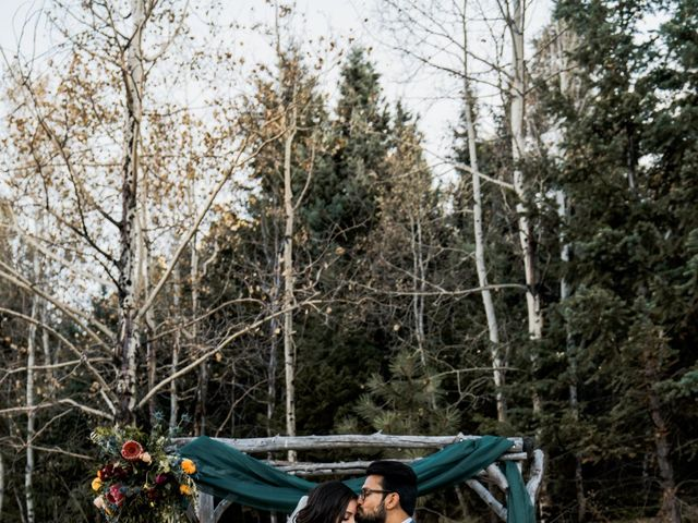 Sam and Diana's Wedding in Pine, Colorado 16