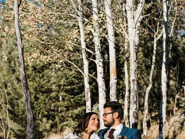 Sam and Diana's Wedding in Pine, Colorado 17