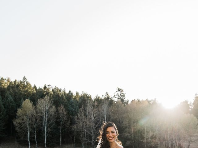 Sam and Diana's Wedding in Pine, Colorado 21