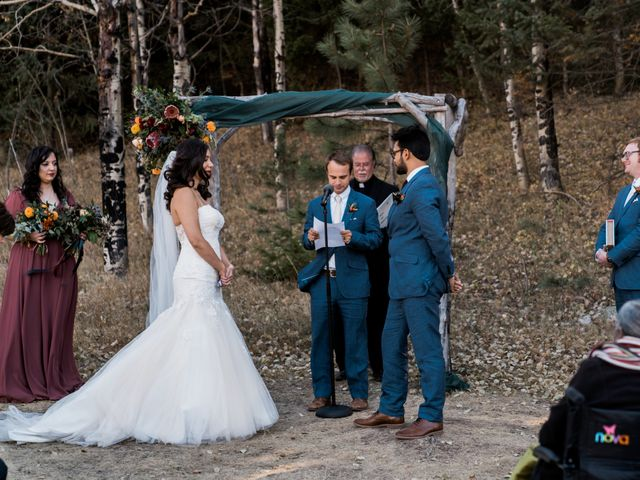 Sam and Diana's Wedding in Pine, Colorado 40