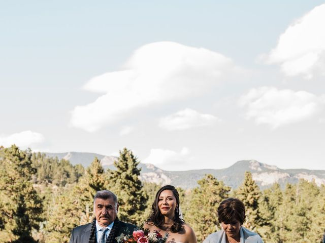 Sam and Diana's Wedding in Pine, Colorado 43