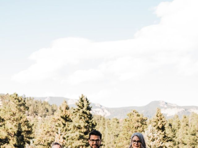 Sam and Diana's Wedding in Pine, Colorado 50