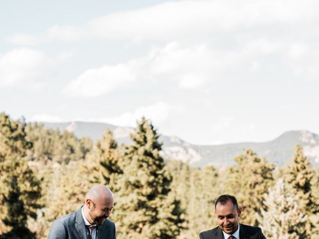 Sam and Diana's Wedding in Pine, Colorado 52