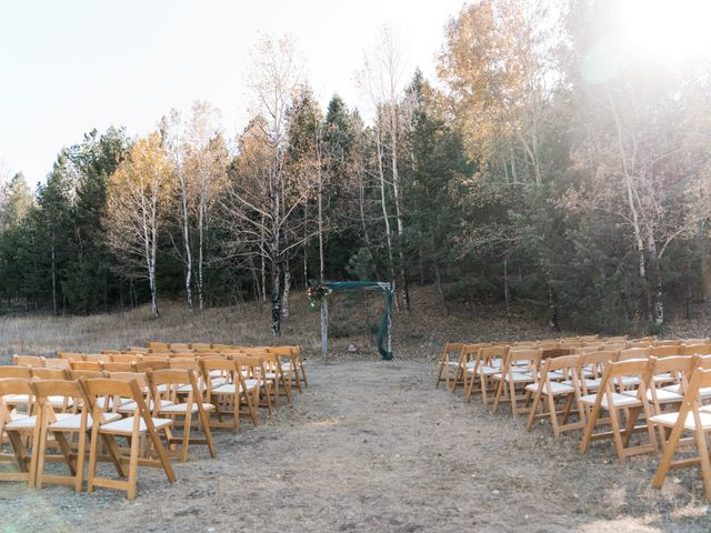 Sam and Diana's Wedding in Pine, Colorado 65