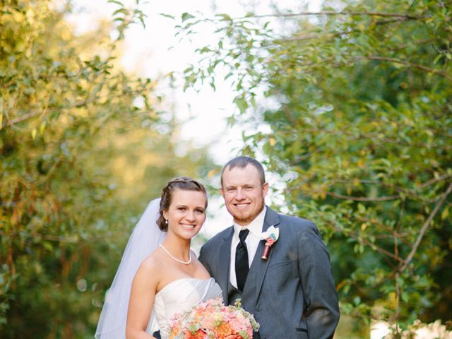 The wedding of Kyle and Courtney