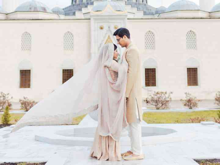 The wedding of Hira and Taha