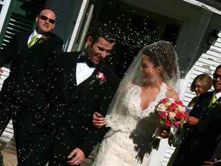 The wedding of Melissa and John 1