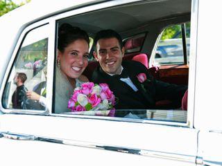 The wedding of Melissa and John