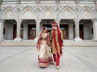The wedding of Priyesha and Ryan
