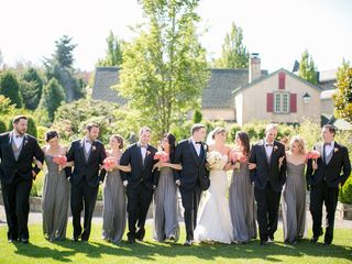 Rachel and Daniel's Wedding in Woodinville, Washington 11